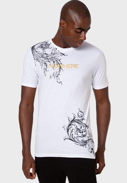 Nowhere Crew Neck T-Shirt