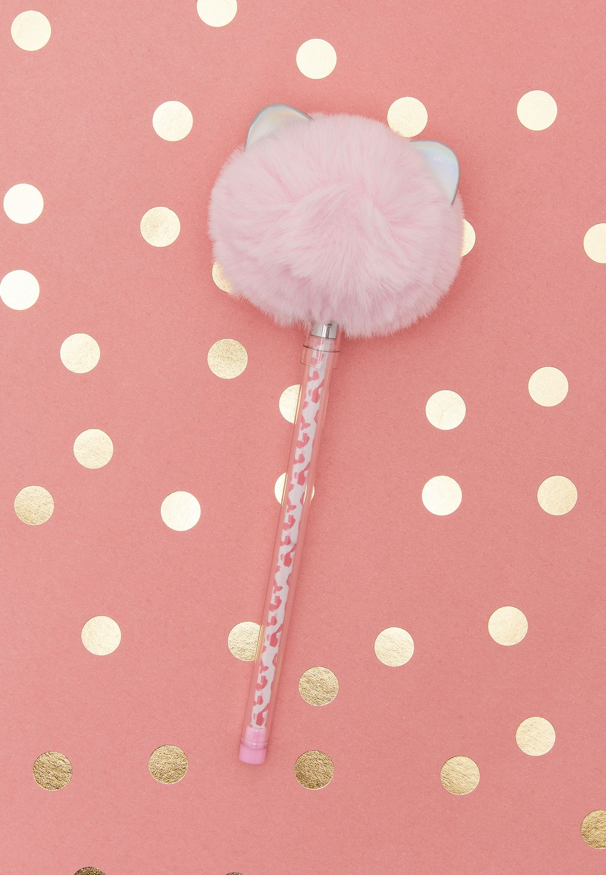 Furry Pink Lollipen