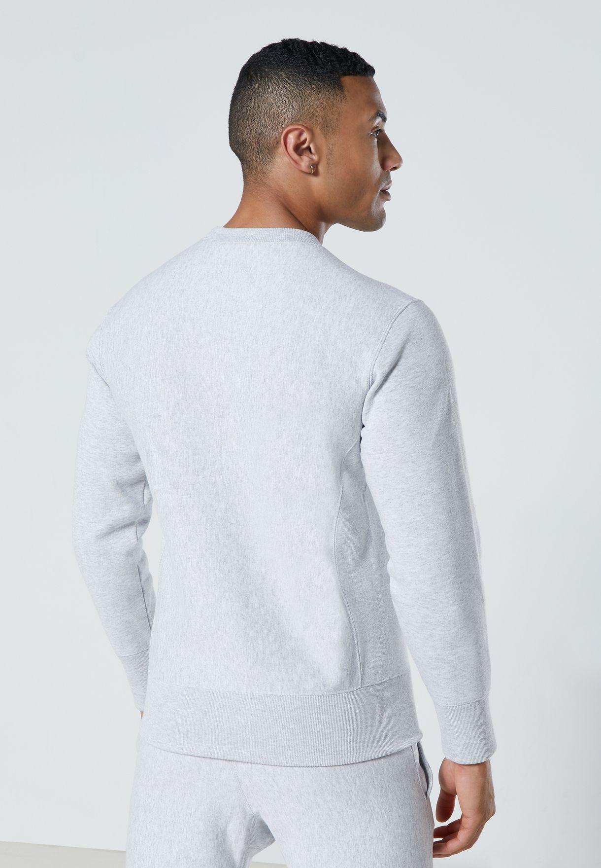 Reverse Weave Logo Sweatshirt