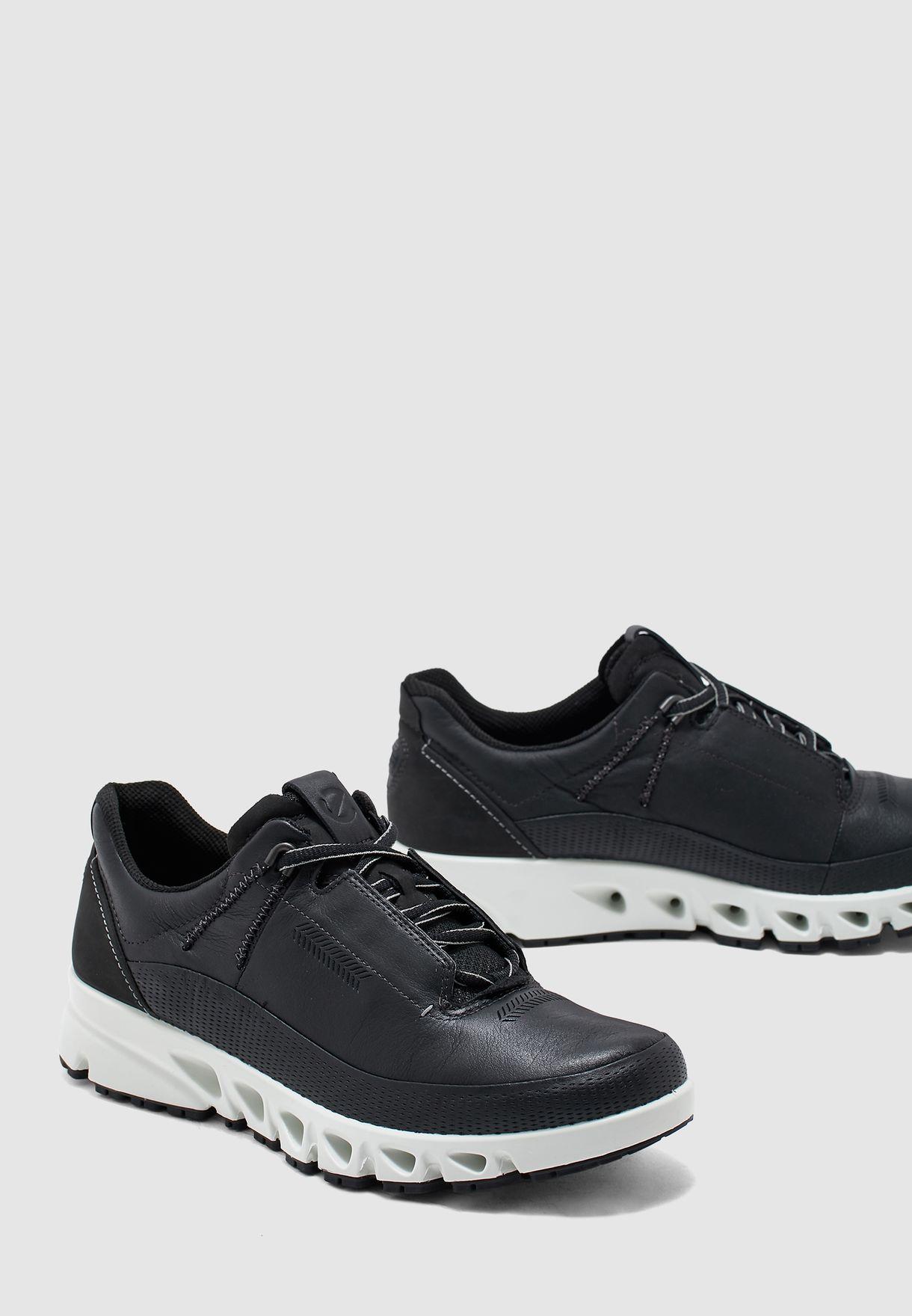 Buy Ecco black Omni-Vent Sneakers for