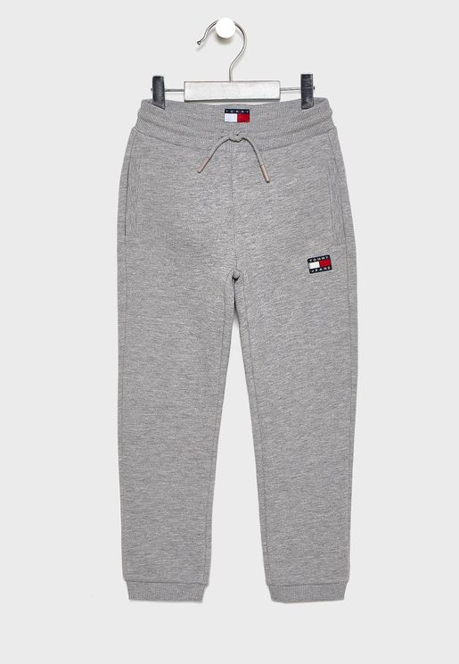 Kids Logo Patch Sweatpants