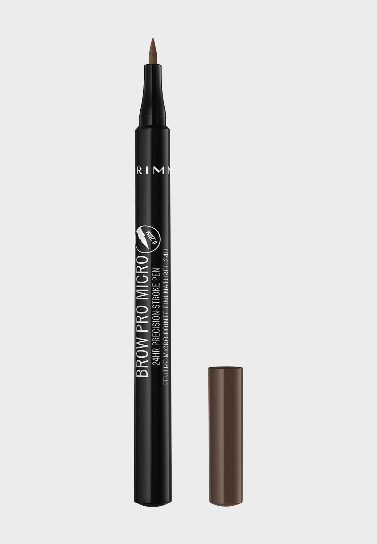 قلم الحواجب براو برو مايكرو 24 آورز 003 سوفت براون