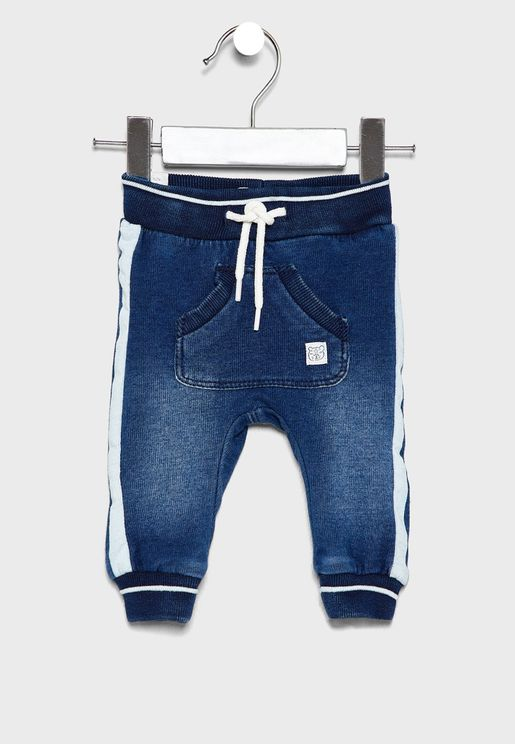Infant Side Striped Jogg Jeans