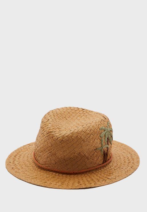Nana Straw Floppy Hat