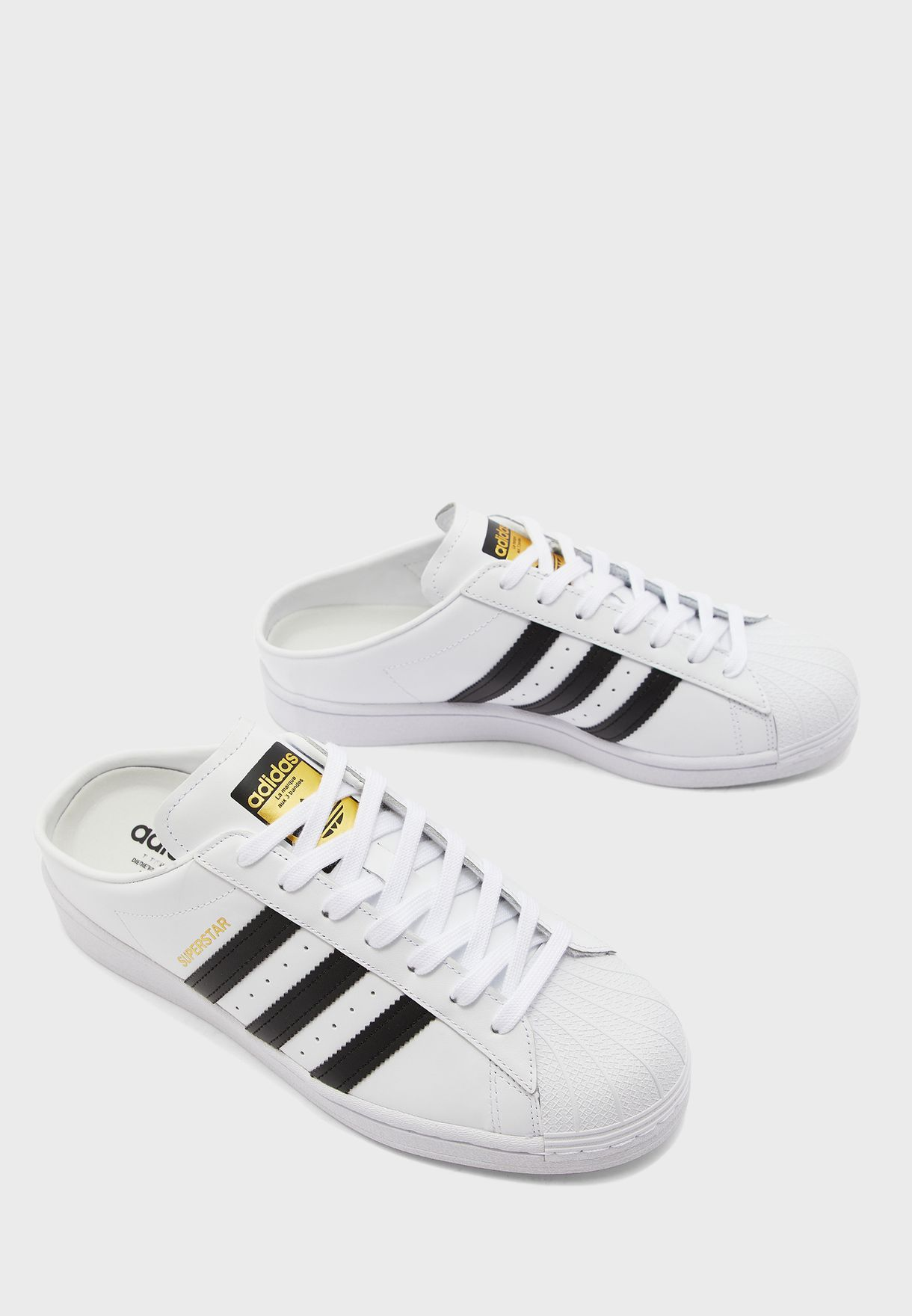 puño cocodrilo Patriótico  Buy adidas Originals white Superstar Mule for Men in MENA, Worldwide |  FX0527