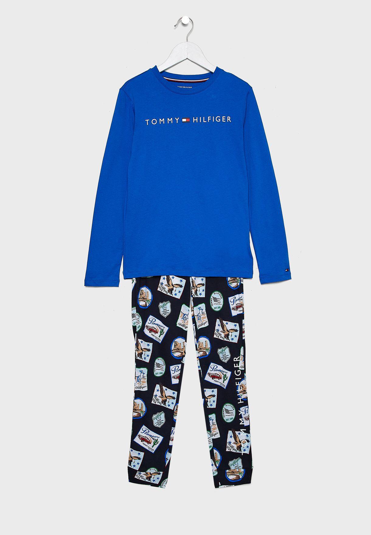 Teen T-Shirt + Printed Sweatpants Set