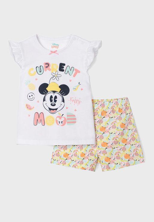 Infant Minnie Mouse Bodysuit
