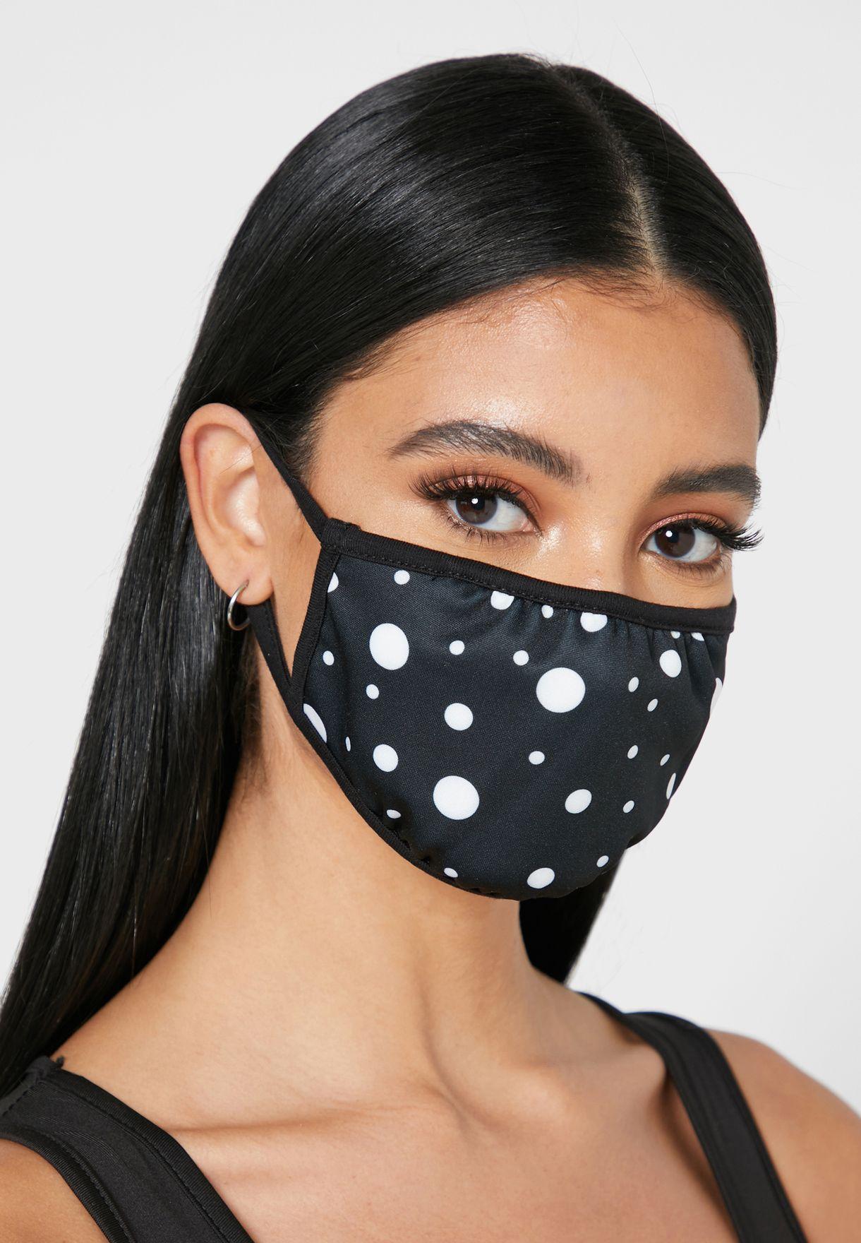 Mix Polka Dot Mask