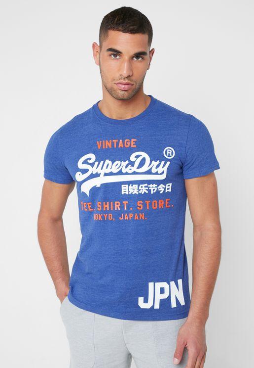 Shirt Shop Duo Crew Neck T-Shirt