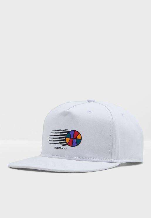 ecd9f7f05f912 Art Hoop Baller Snapback Cap