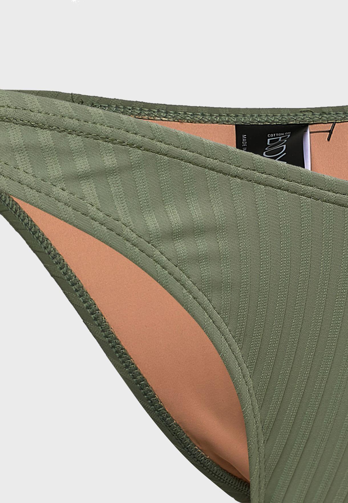 High Side Brazilian Bikini Bottom