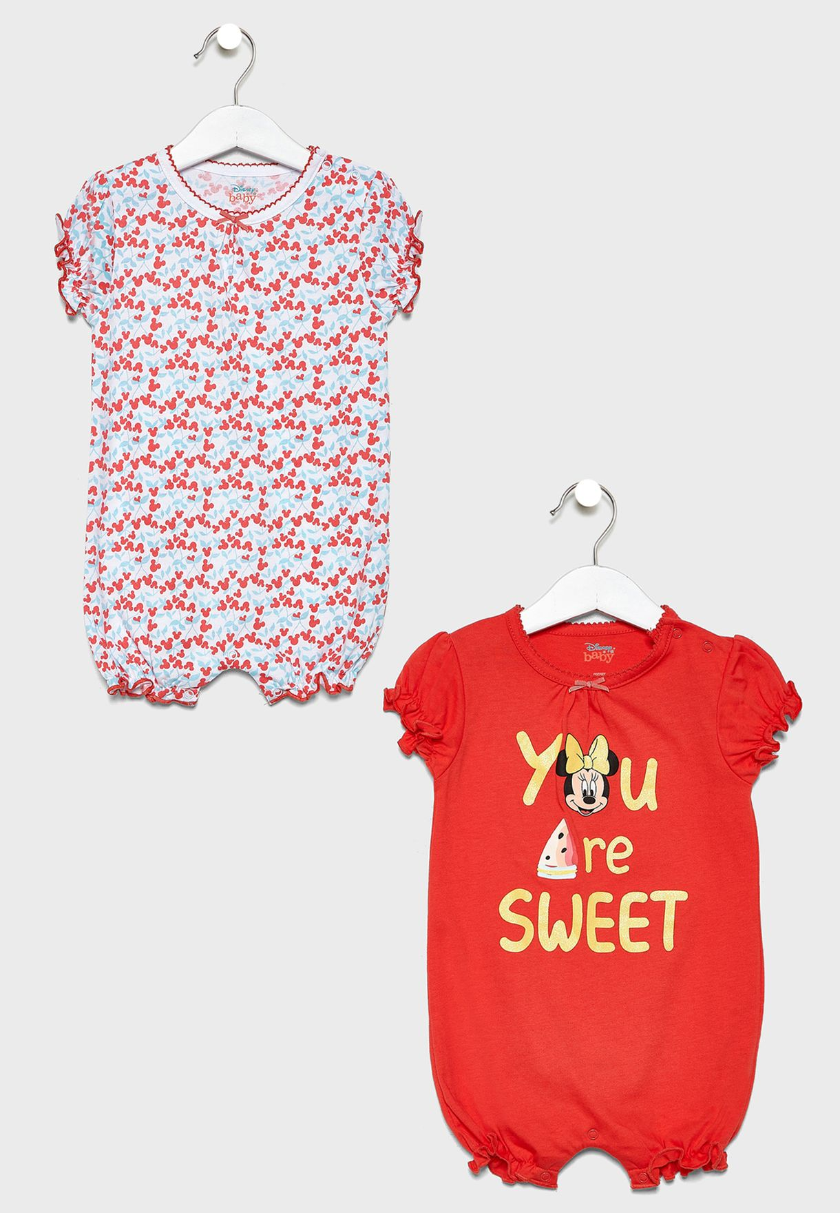Infant 2 Pack Minnie Top