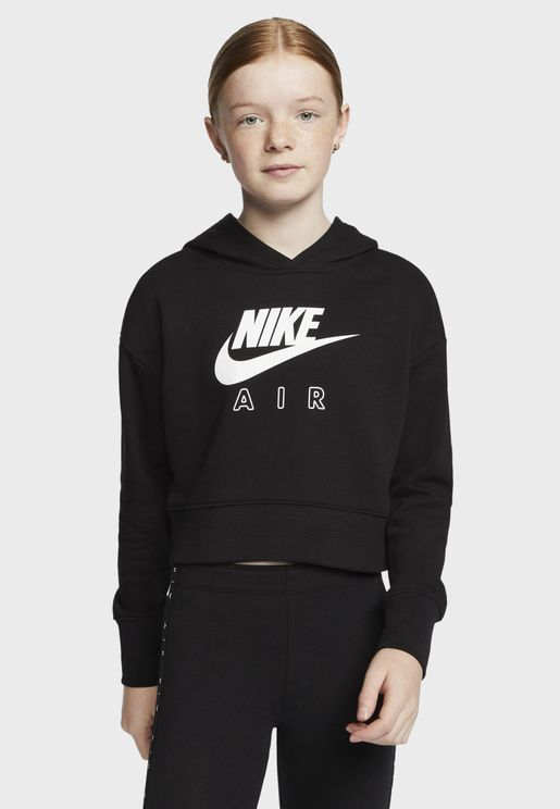 Youth NSW Air Cropped Hoodie