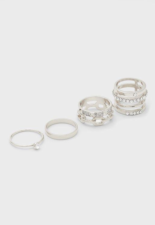 Amorfilith Rings Set
