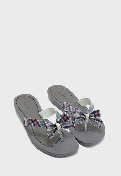 Tutu Flat Sandal