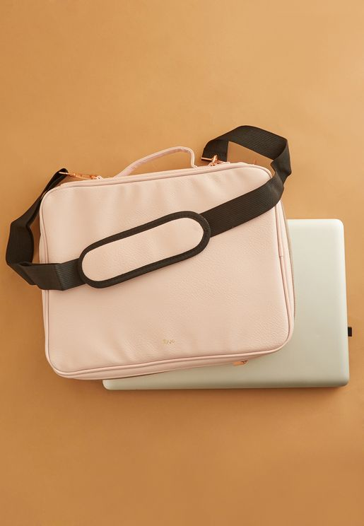 Blush Laptop Bag