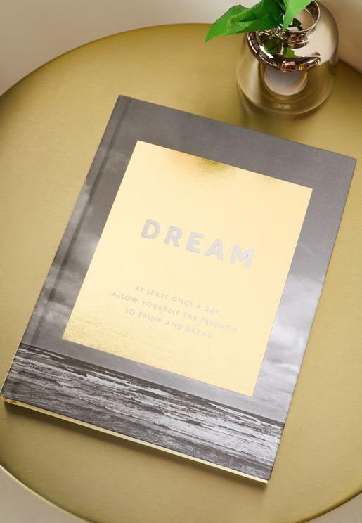 دفتر ملاحظات بكتابة Dream