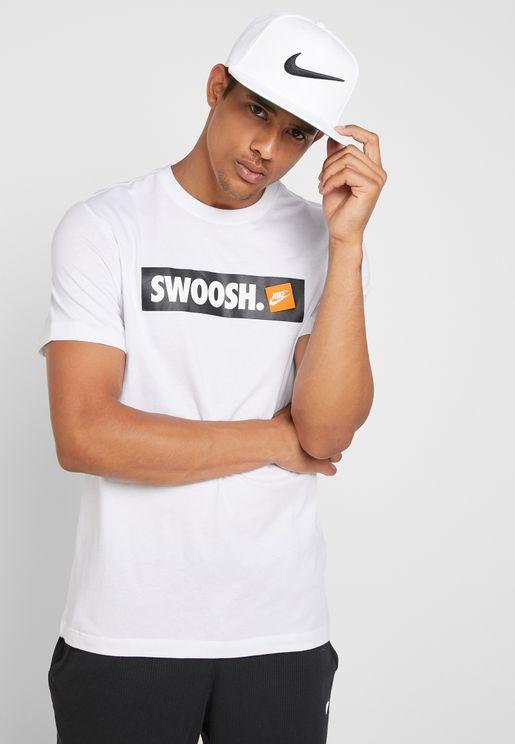 Swoosh Bumper Sticker T-Shirt