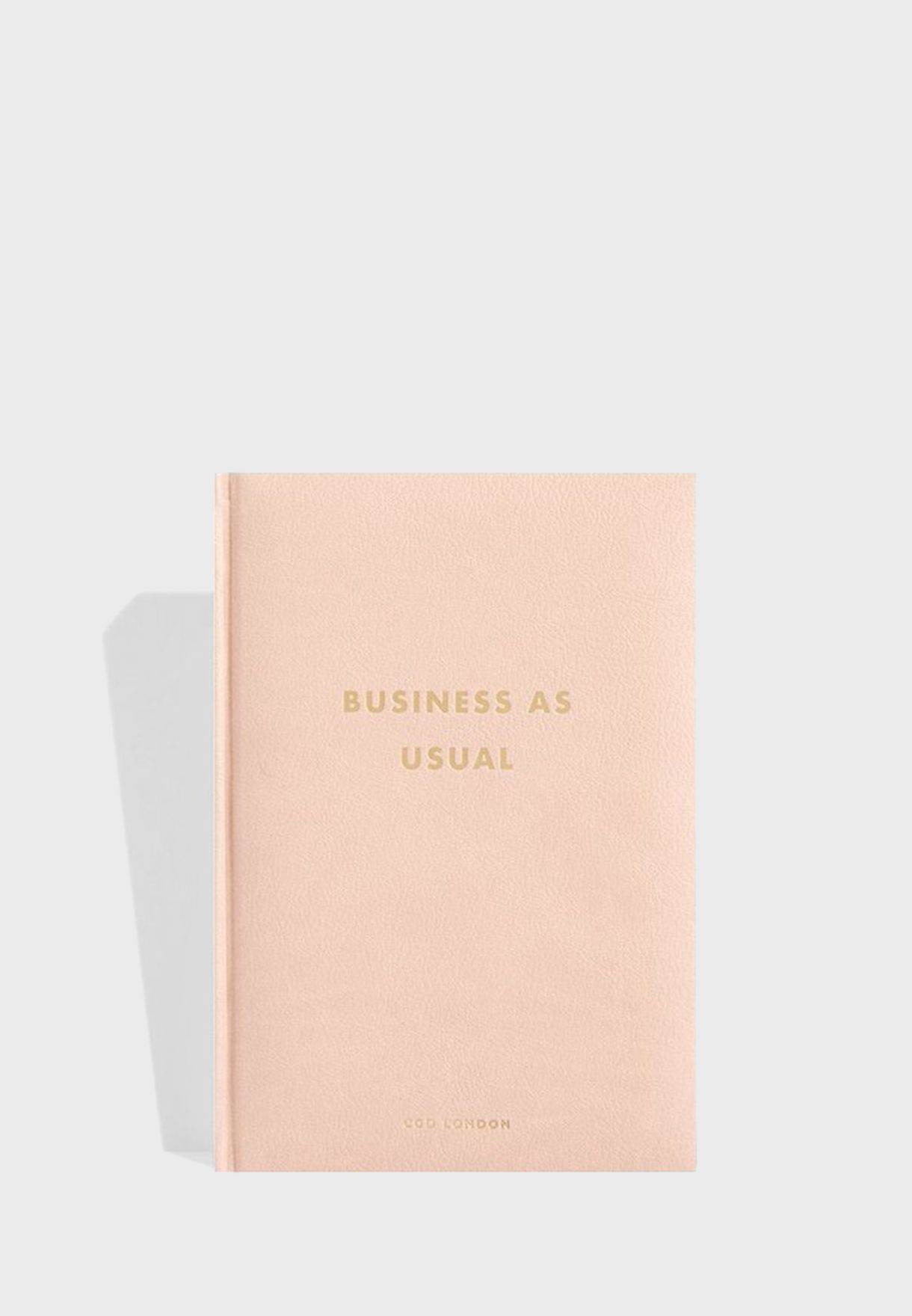 Business As Usual Notebook