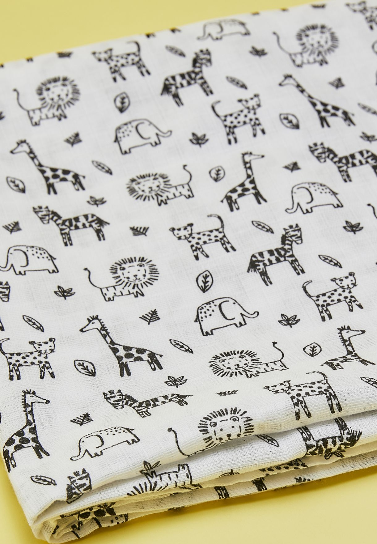 Extra Large Printed Safari Muslin