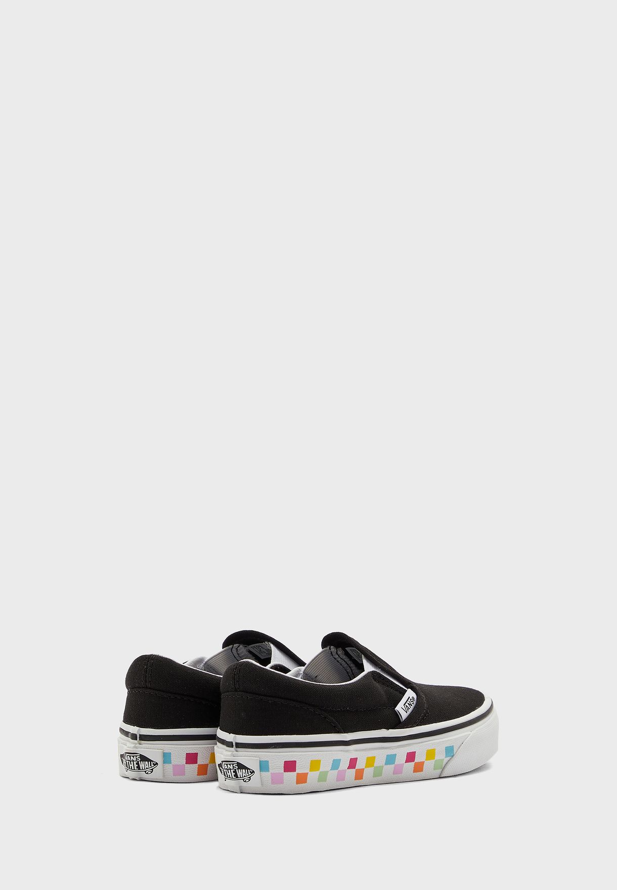Kids Checkerboard Classic Slip-Ons