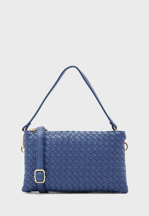 Weave Crossbody Bag