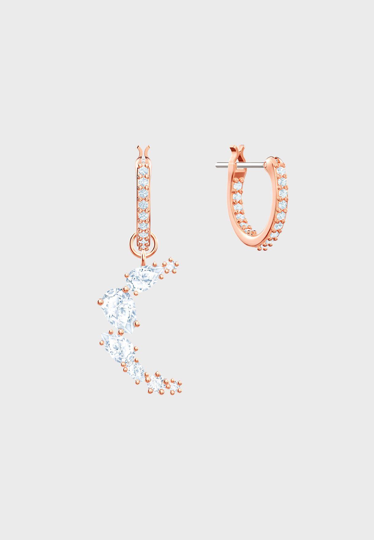 Moonsun Mini Moon Drop Earrings