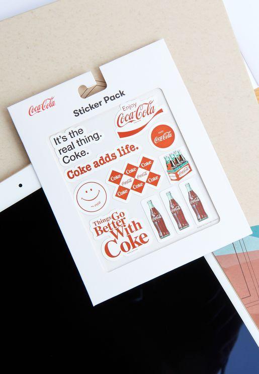 ملصقات كوكا كولا