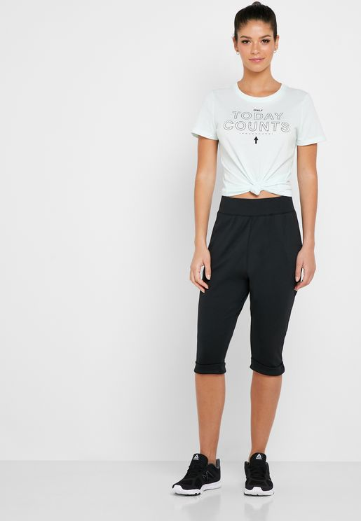 Essential Jersey Pants