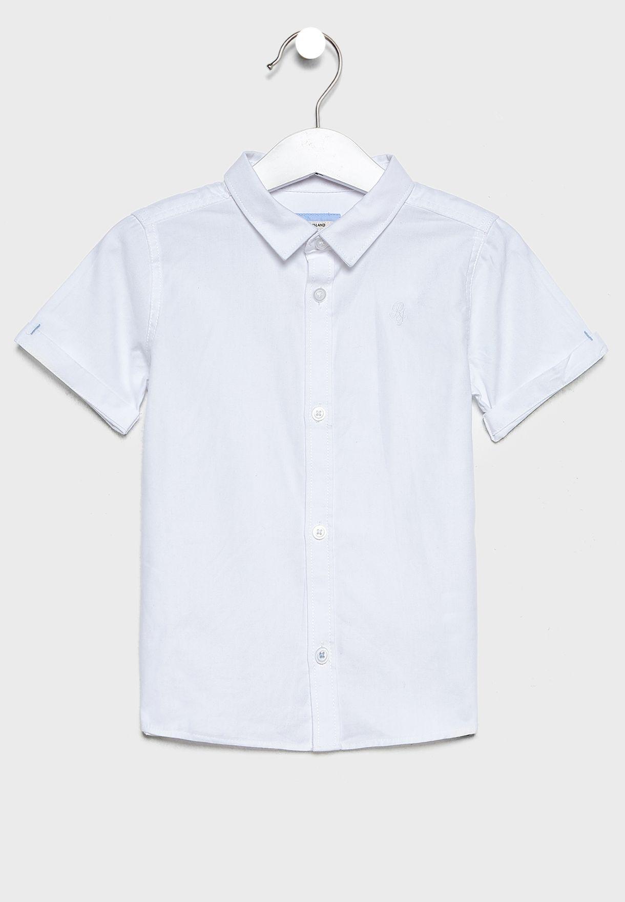 قميص بازرار للبيبي