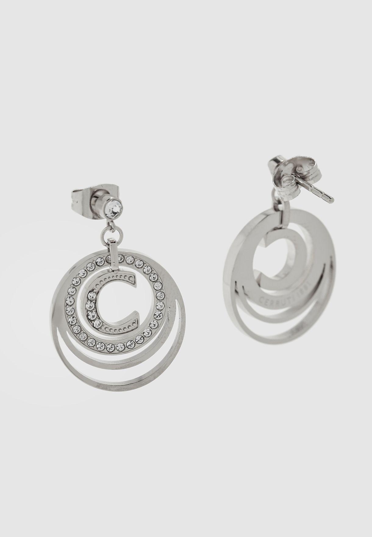 Layered Drop Earrings