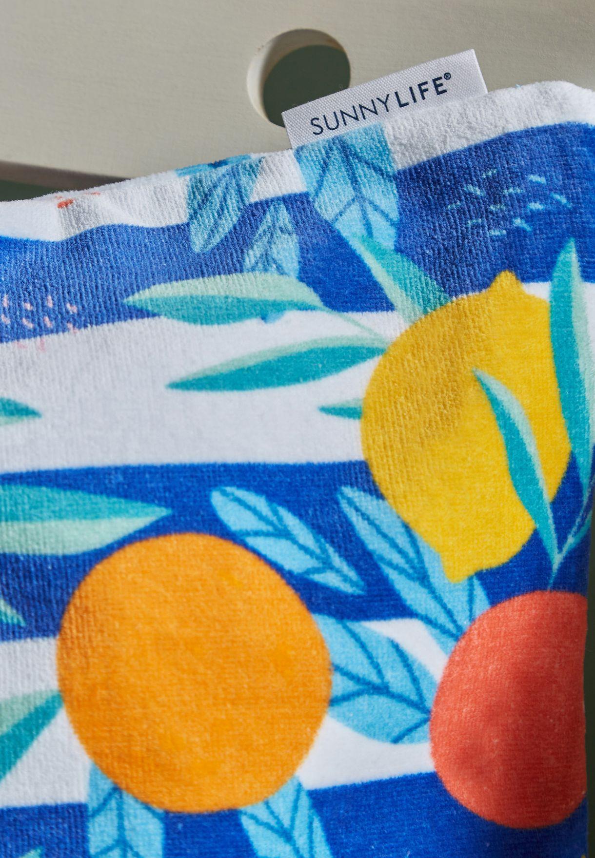 وسادة شاطئ مطبعة