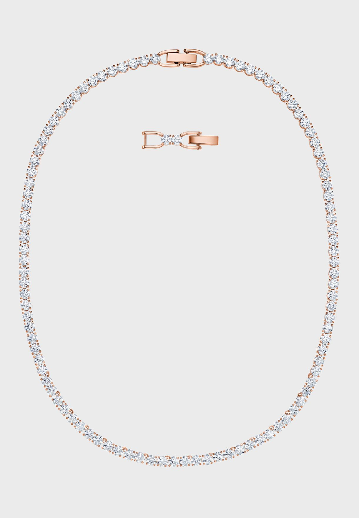 Tennis Deluxe Around Necklace