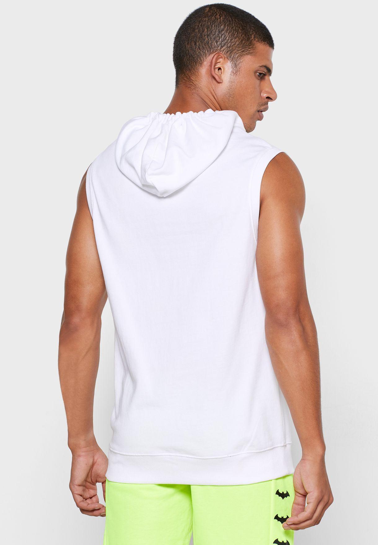 Batman Logo Hooded Vest