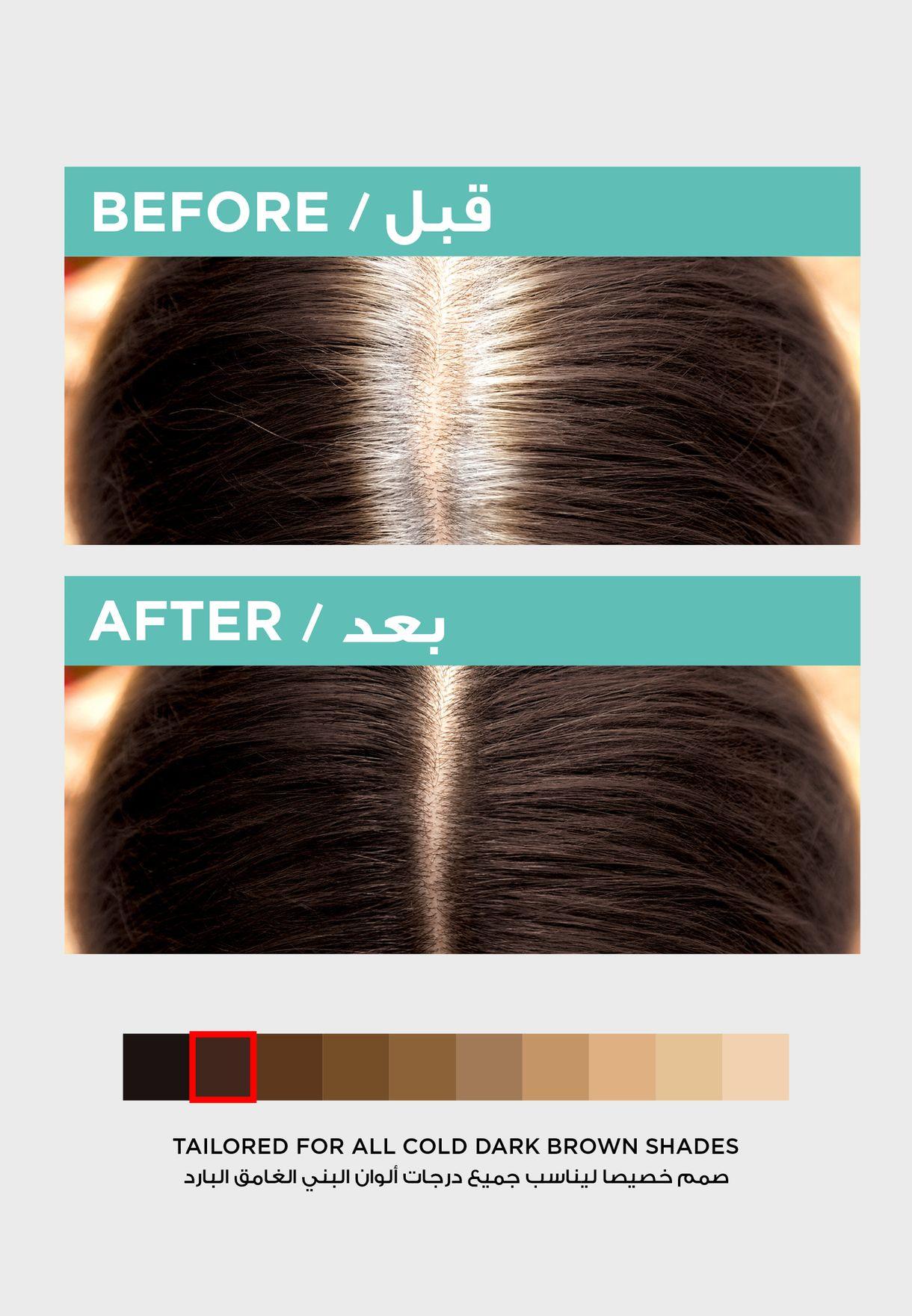 Magic Retouch Hair Color Brun Cold Dark Brown