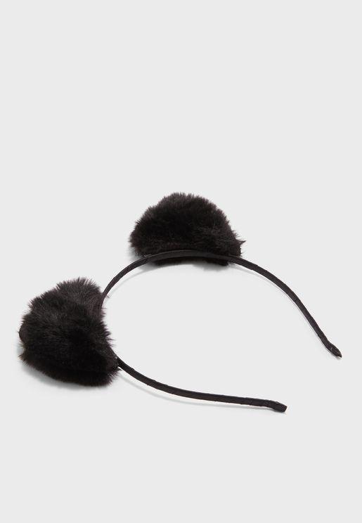 Kids Cat Ear Headband