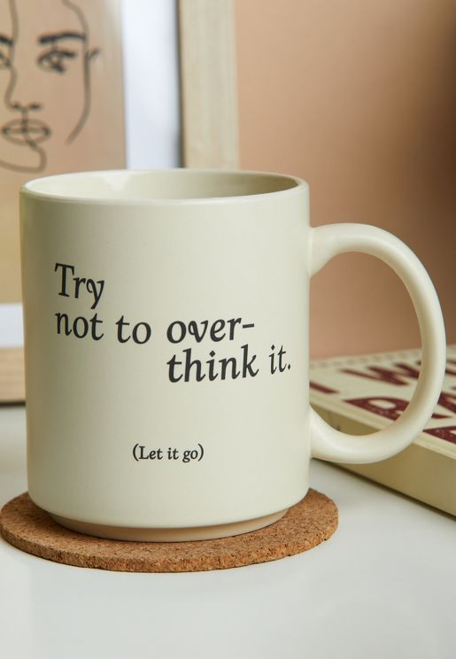 مج Try Not To Over Think It