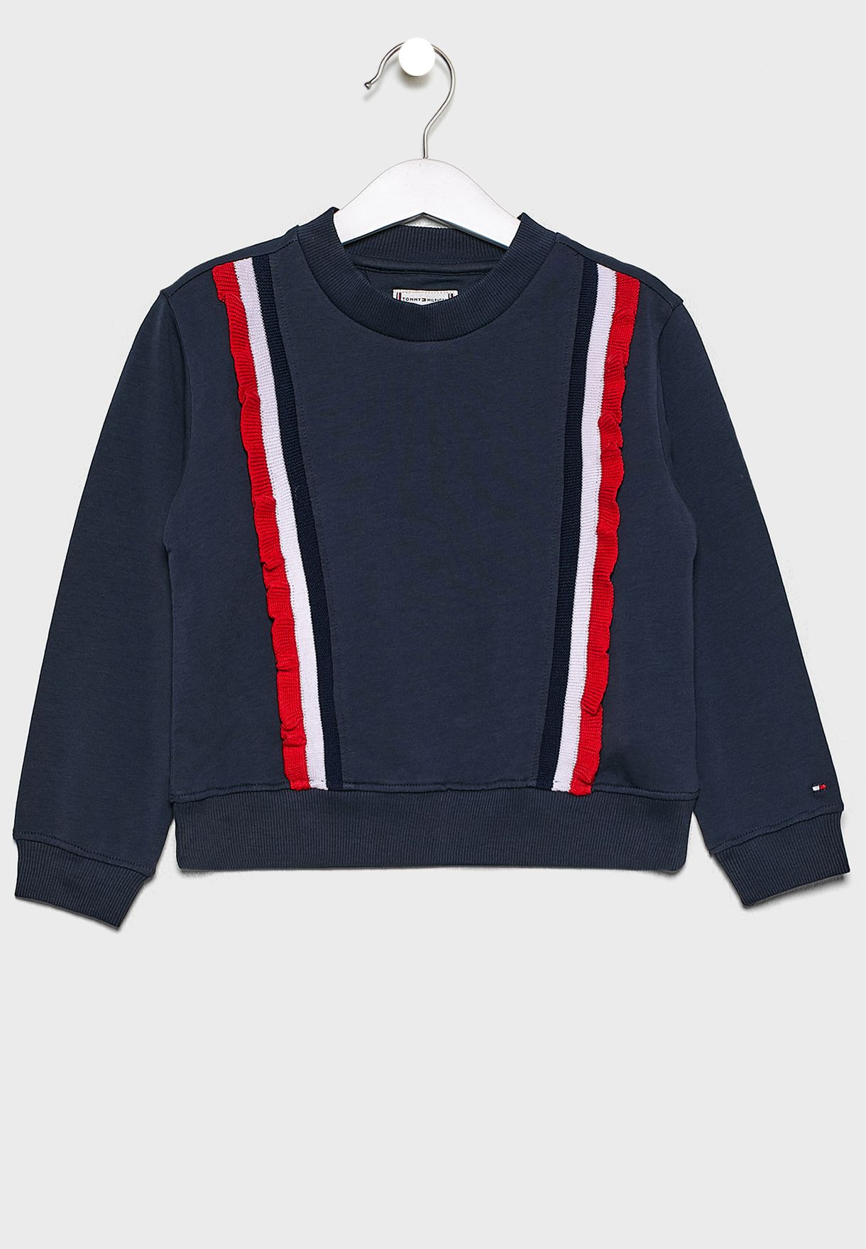 Kids Ruffle Detail Sweatshirt