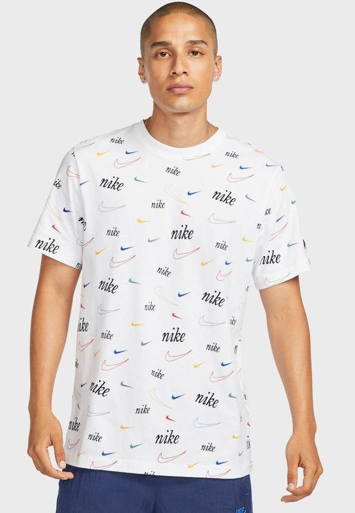 Nsw Swoosh Aop T-Shirt