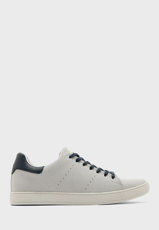 Faux Soft Suede Casual Lace Ups