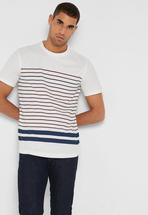 Tomy Block Striped T-Shirt