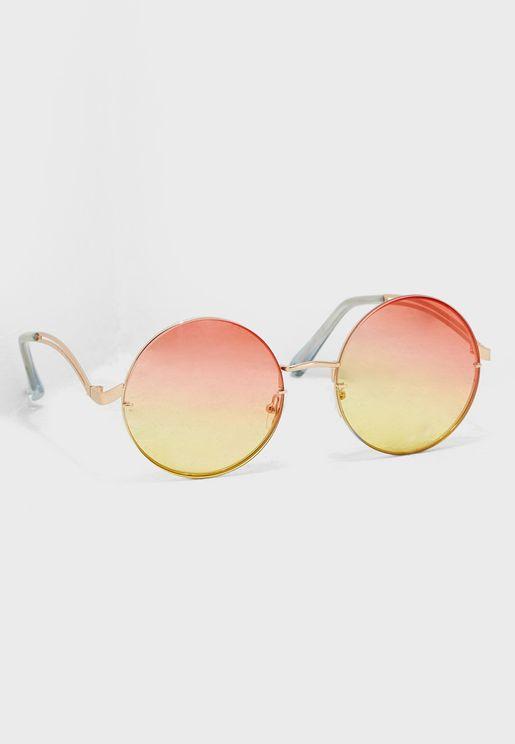 Cadeang Round Sunglasses