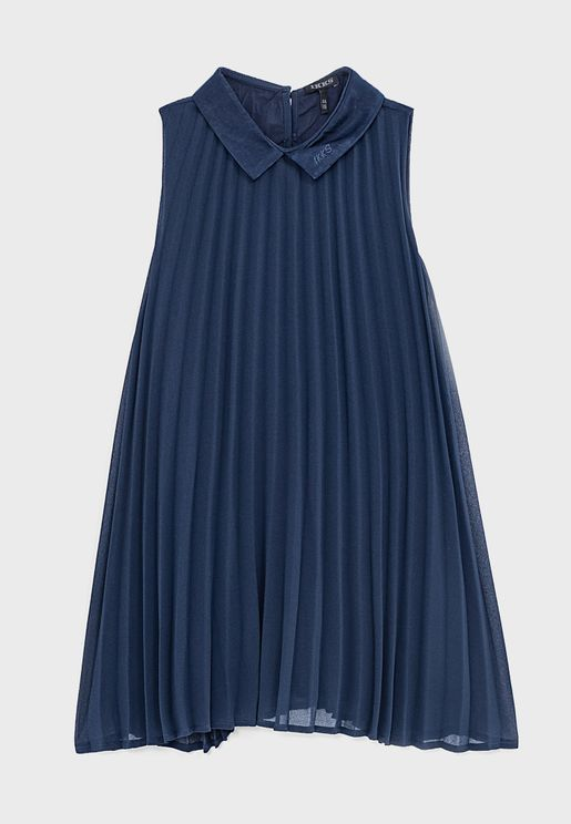 Youth Pleated Dress