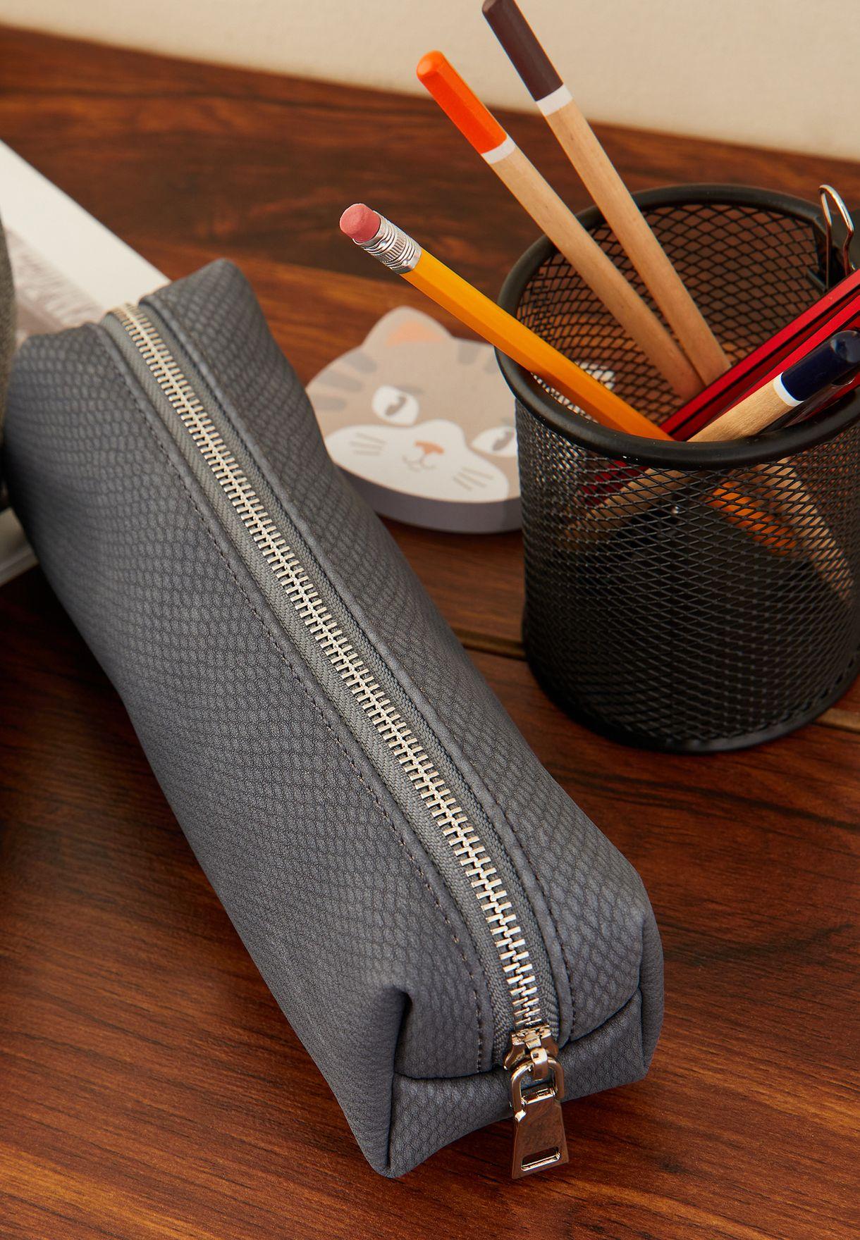 Textured Pencil Case