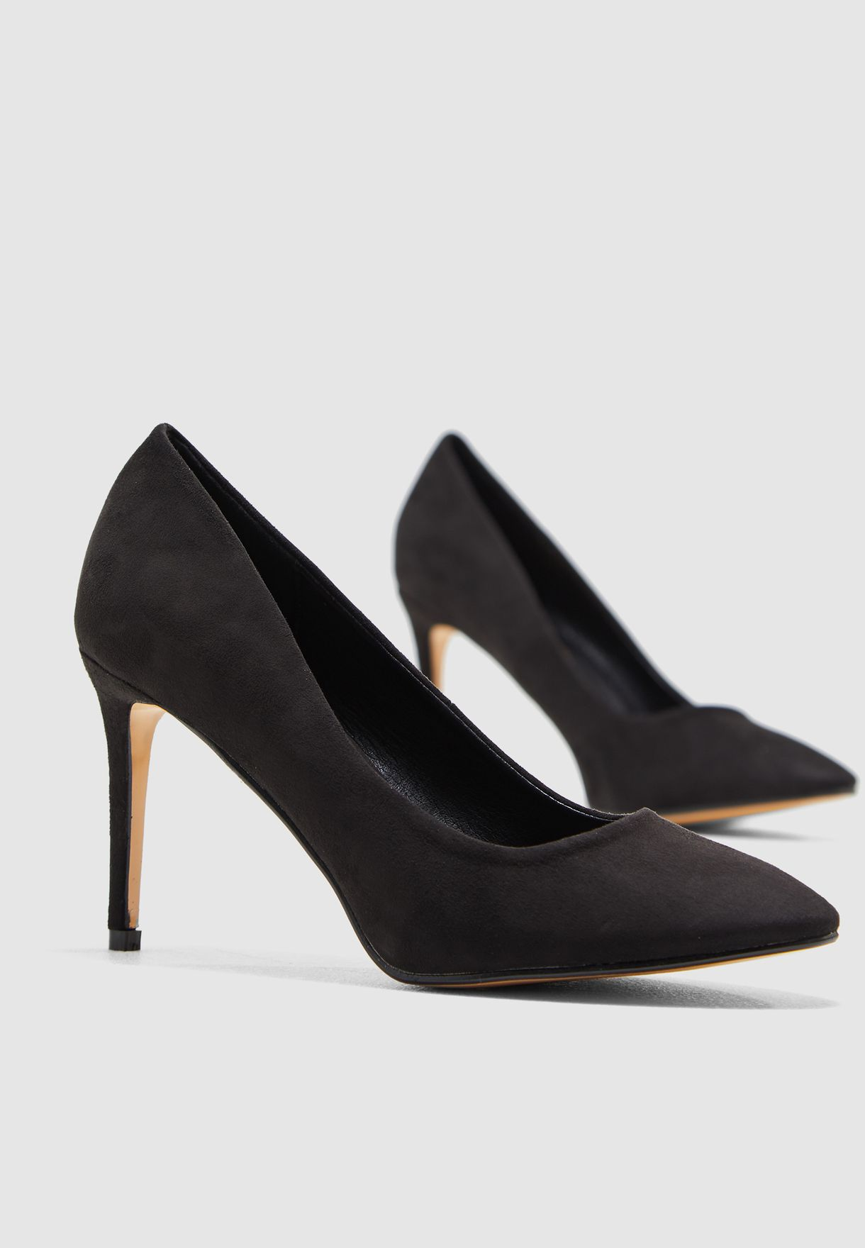 Pointed Toe Court Shoe