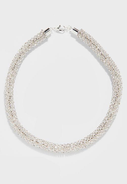 Diamante Sparkle Necklace