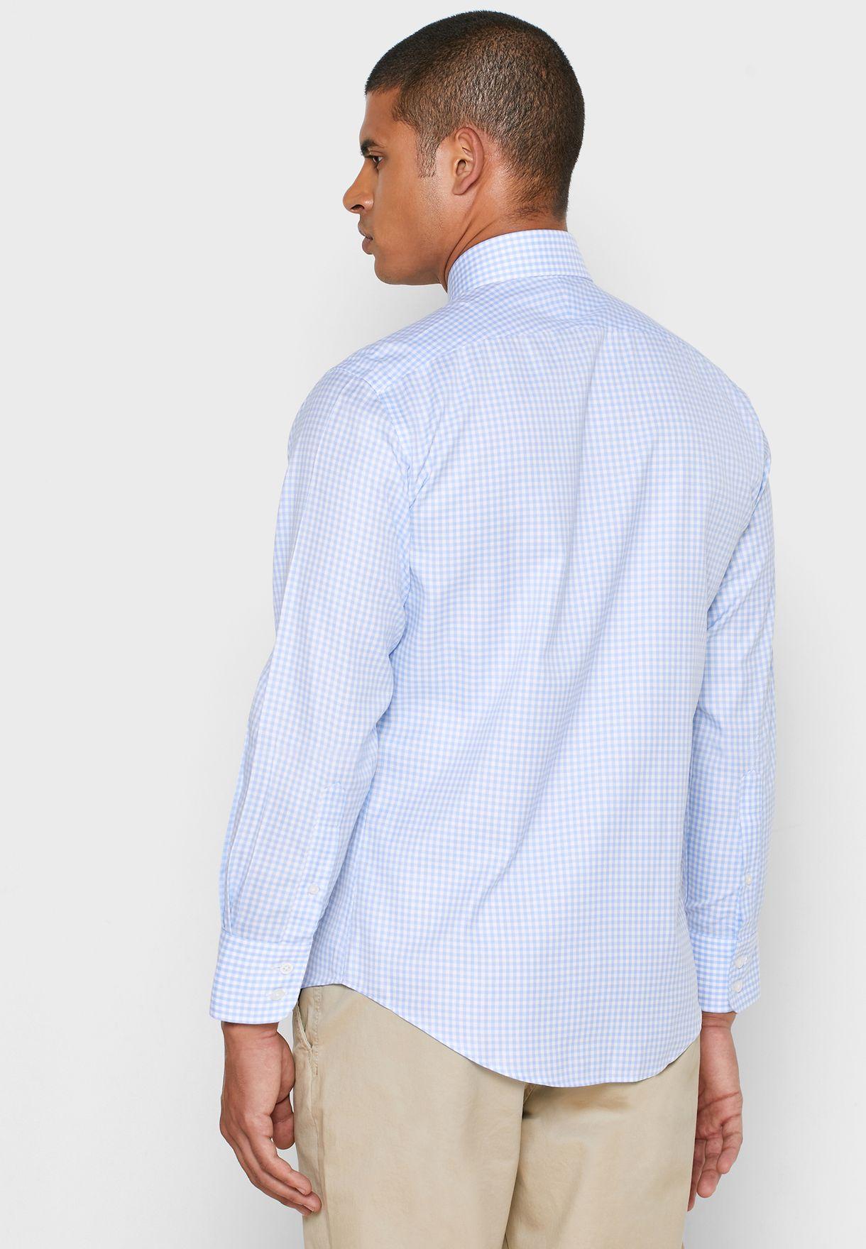 قميص سليم فيت مطبع