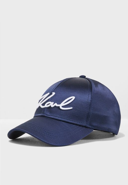 Signature Satin Cap