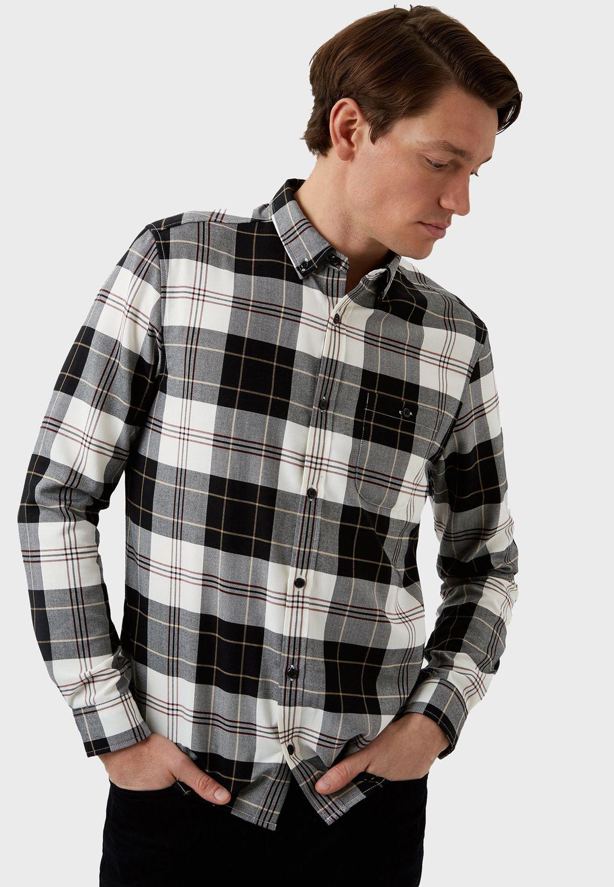 قميص مربعات