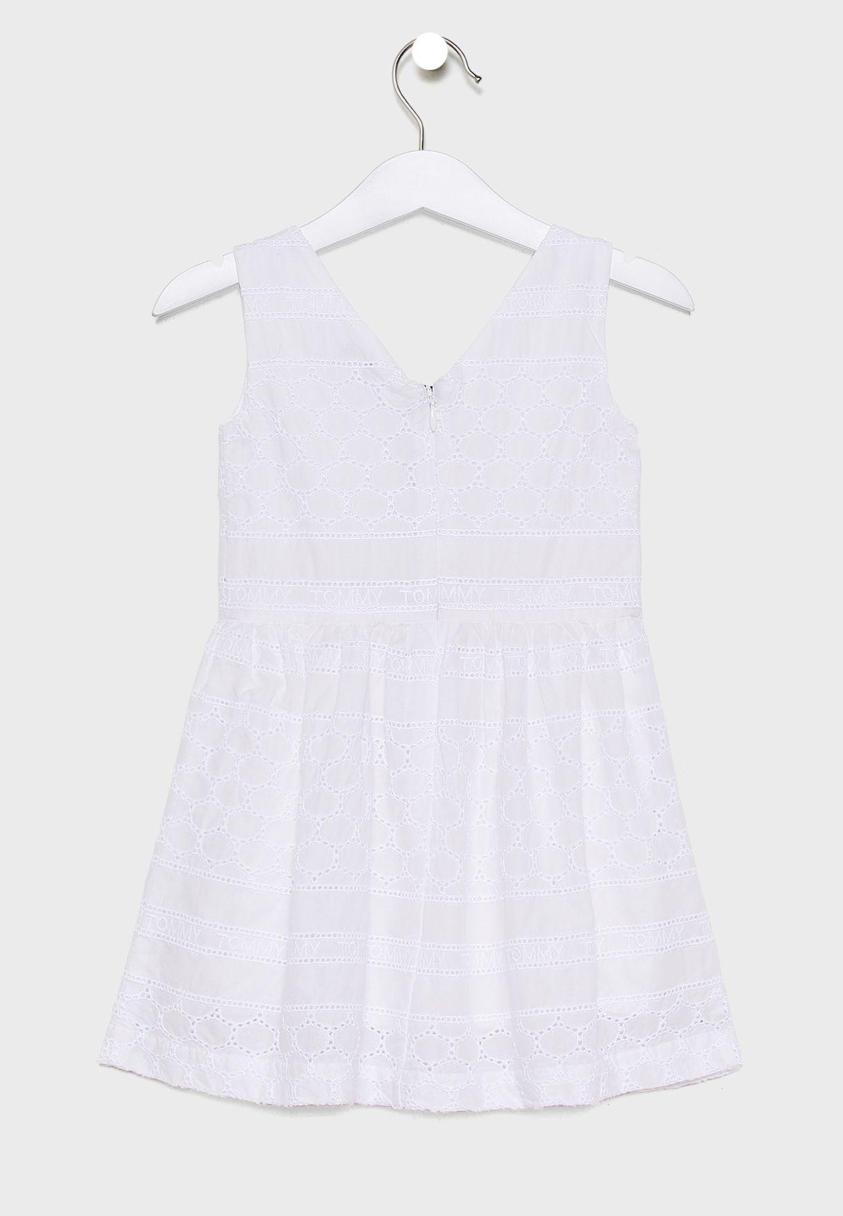 Kids Ruffle Detail Dress + Knicker Set